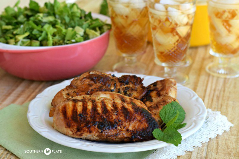 Marinated Grill Pan Chicken