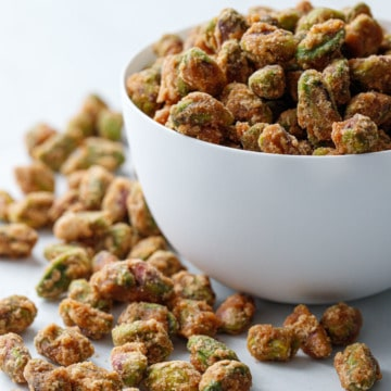 Sweet & Spicy Candied Pistachios