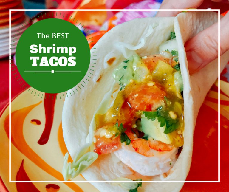 Skewered Shrimp Tacos