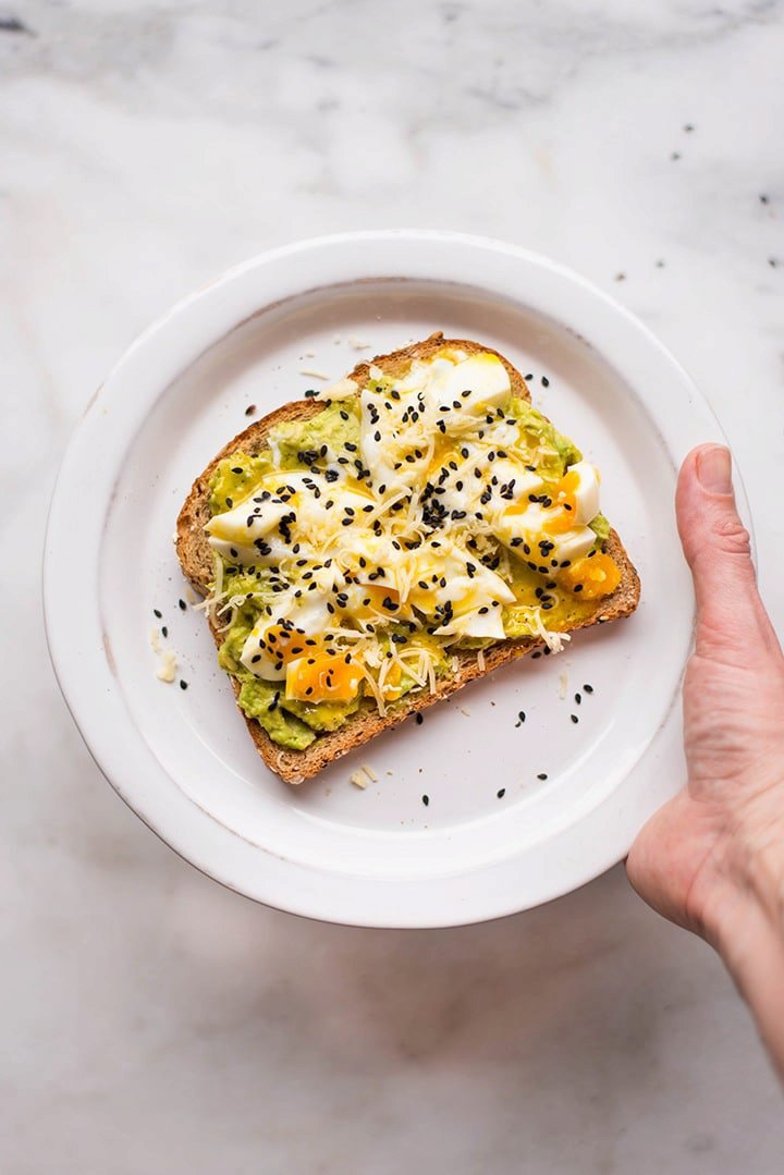 Perfect Avocado Toast with Soft Boiled Egg