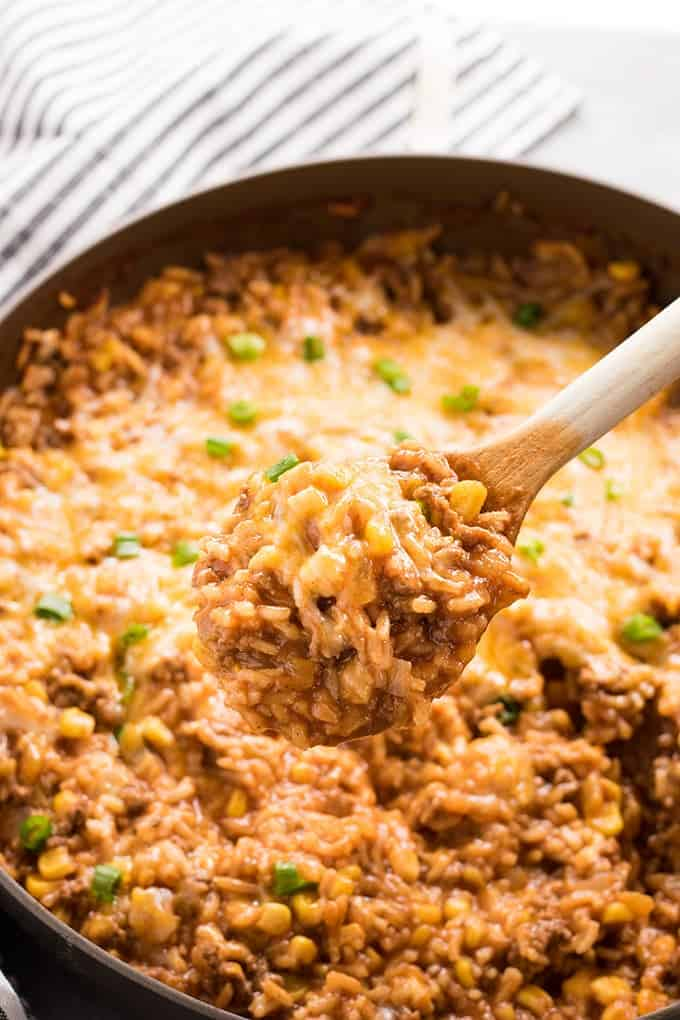 One Pot Mexican Rice Casserole